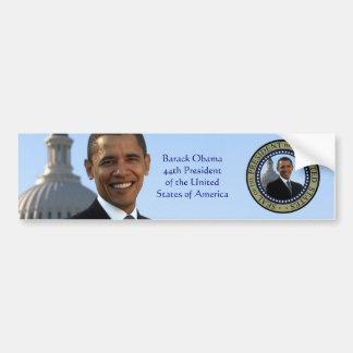 Pegatina para el parachoques del retrato de Barack Pegatina Para Auto