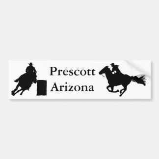 Pegatina para el parachoques del rodeo de Arizona  Pegatina De Parachoque