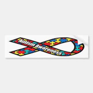 Pegatina para el parachoques del rompecabezas de l etiqueta de parachoque