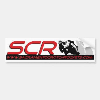 Pegatina para el parachoques del SCR Pegatina Para Auto