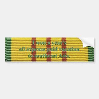Pegatina para el parachoques del servicio de Vietn Pegatina Para Auto