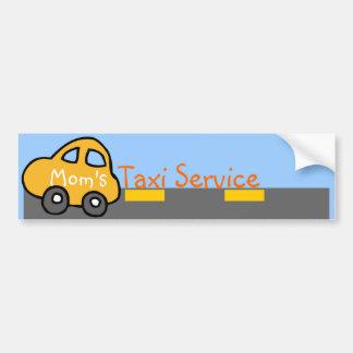 Pegatina para el parachoques del servicio del taxi pegatina para auto