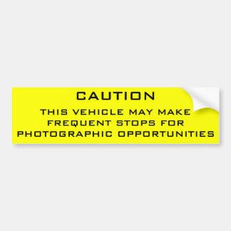 Pegatina para el parachoques del Shutterbug de la  Pegatina Para Auto