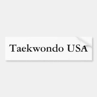 Pegatina para el parachoques del Taekwondo los E.E Pegatina Para Auto