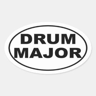 Pegatina para el parachoques del tambor mayor