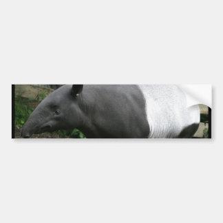 Pegatina para el parachoques del Tapir malayo Pegatina Para Auto