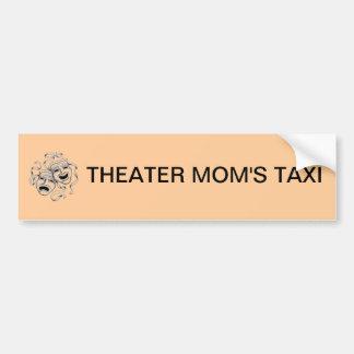 Pegatina para el parachoques del taxi de la mamá d etiqueta de parachoque