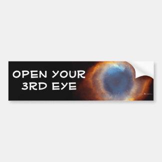 pegatina para el parachoques del tercer ojo etiqueta de parachoque