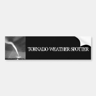 Pegatina para el parachoques del tornado pegatina para auto