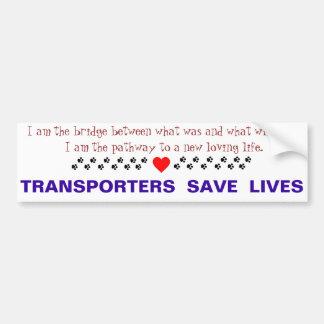 Pegatina para el parachoques del transporte pegatina para auto