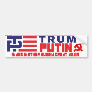 Pegatina para el parachoques del triunfo/de Putin Pegatina Para Auto