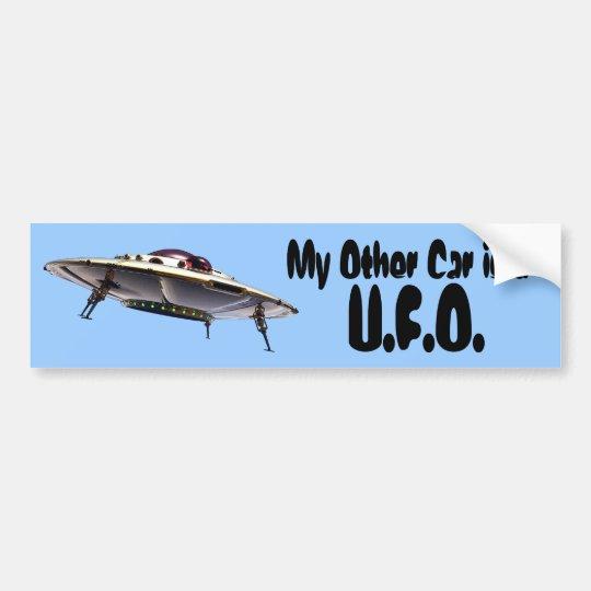 Pegatina para el parachoques del UFO Pegatina Para Auto