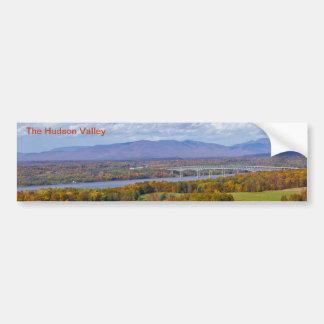 Pegatina para el parachoques del valle del Hudson Pegatina Para Auto