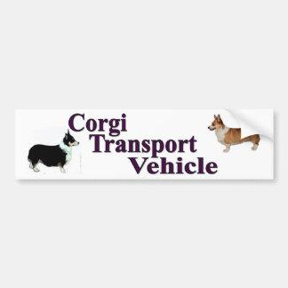 Pegatina para el parachoques del vehículo de trans pegatina para auto