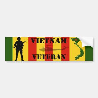 Pegatina para el parachoques del veterano de Vietn Pegatina Para Auto