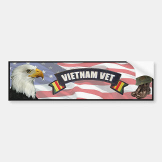 Pegatina para el parachoques del veterinario de Vi Etiqueta De Parachoque