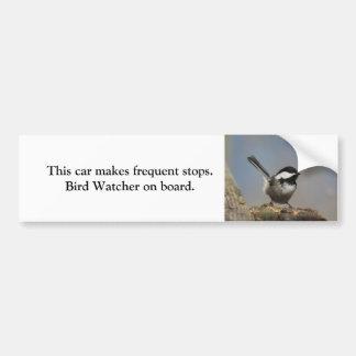 Pegatina para el parachoques del vigilante de pegatina para auto