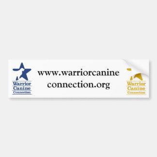 Pegatina para el parachoques del Web site de WCC Etiqueta De Parachoque