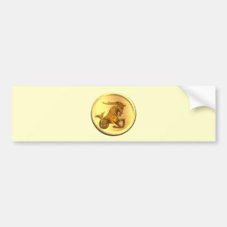 Pegatina para el parachoques del zodiaco del Capri Pegatina De Parachoque