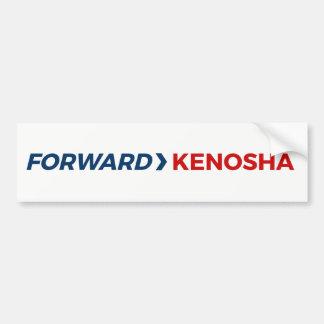 Pegatina para el parachoques delantera de Kenosha Pegatina Para Auto