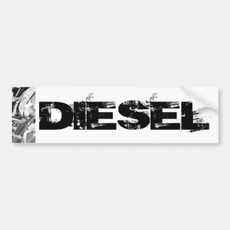 Pegatina para el parachoques diesel pegatina para auto