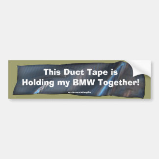 Pegatina para el parachoques divertida de la cinta pegatina para auto
