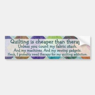 Pegatina para el parachoques divertida de los pens etiqueta de parachoque