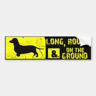 Pegatina para el parachoques divertida del perro d pegatina para auto