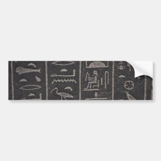 Pegatina para el parachoques egipcia de los jerogl pegatina para auto