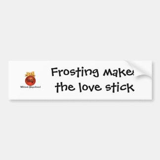 Pegatina para el parachoques - el helar hace el pa pegatina para auto