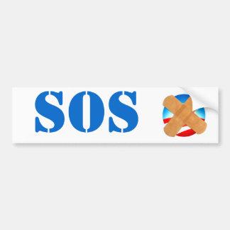 Pegatina para el parachoques el SOS Pegatina Para Auto