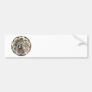 Pegatina para el parachoques enmascarada del mapac etiqueta de parachoque