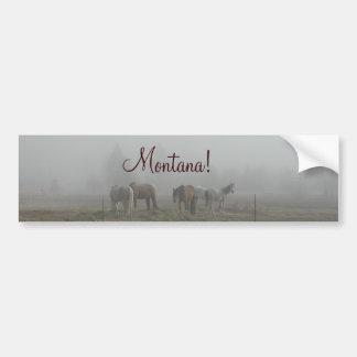 Pegatina para el parachoques escarchada de la nieb pegatina para auto