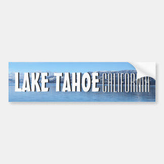 Pegatina para el parachoques escénica del lago pegatina para coche