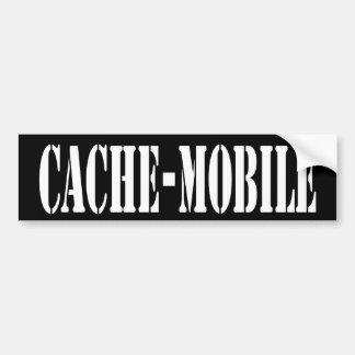 Pegatina para el parachoques Escondrijo-Móvil Pegatina De Parachoque