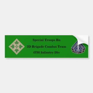 Pegatina para el parachoques especial del BCT 4to  Pegatina Para Auto