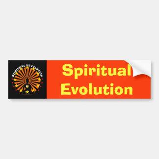 Pegatina para el parachoques espiritual de la evol pegatina para auto