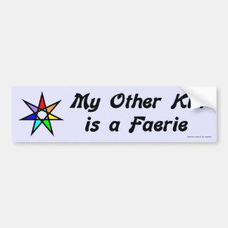Pegatina para el parachoques - Faerie Etiqueta De Parachoque