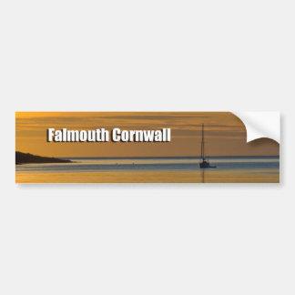Pegatina para el parachoques Falmouth del coche Pegatina Para Auto