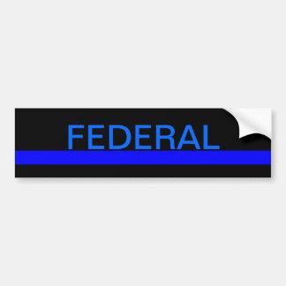Pegatina para el parachoques federal de LEO Pegatina Para Auto
