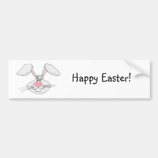 Pegatina para el parachoques feliz de Pascua Etiqueta De Parachoque