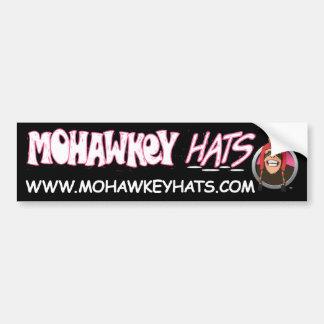 Pegatina para el parachoques feliz del mono de Moh Pegatina De Parachoque