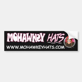 Pegatina para el parachoques feliz del mono de Moh Pegatina Para Auto
