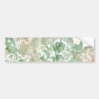 Pegatina para el parachoques floral del modelo del pegatina para auto