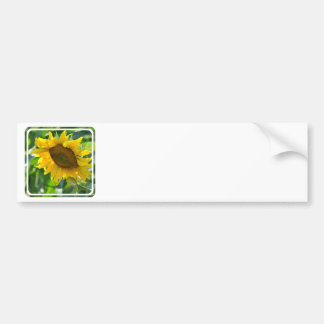 Pegatina para el parachoques floreciente del giras etiqueta de parachoque