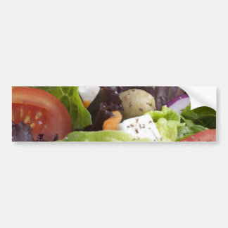 Pegatina para el parachoques fresca de la ensalada pegatina para auto