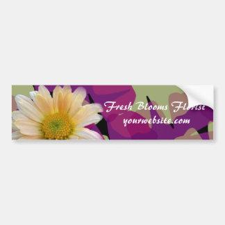 Pegatina para el parachoques fresca del florista d pegatina de parachoque
