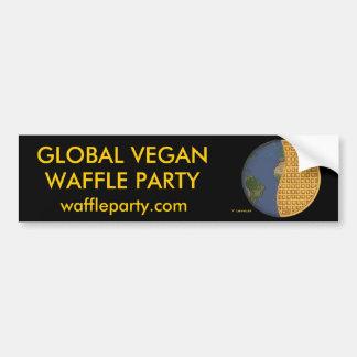 Pegatina para el parachoques global 1 del fiesta d pegatina para auto