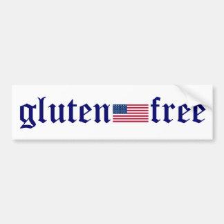 pegatina para el parachoques gluten-libre de la ba etiqueta de parachoque