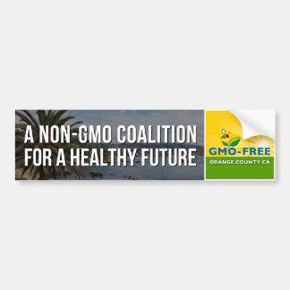 Pegatina para el parachoques GMO-Libre de CA del Pegatina Para Auto
